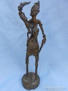 Dogon törzsi bronz szobor.20.század első fele.