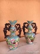 Porcelán Fischer Emil  vázák  egyben eladók