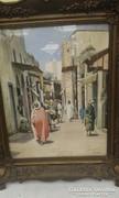 Koszkol Jenő akvarell