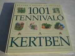 1001 TENNIVALÓ A KERTBEN
