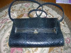 Vintage kígyóbőr táska