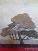 Kézzel készített falikép, fali kép,fali szőnyeg falvédő kézi