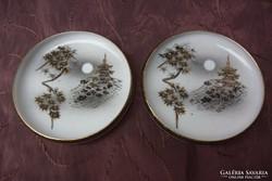 Japán porcelán tálka pár