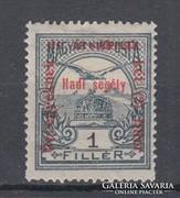 1915 Hadisegély II. 1 Fillér falcosan(A088)