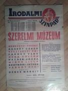 Színházi plakát 1962-ből. Szerelmi Múzeum