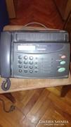 Telefon + fax gép, működik