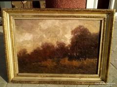 Berkes Antal (1874-1938) Eredeti festménye garanciával.