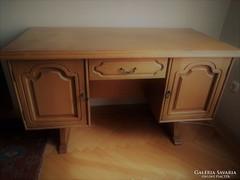 Rusztikus tölgy íróasztal