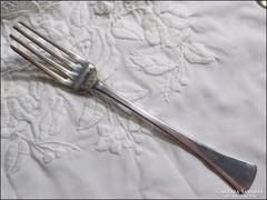 Antik ezüst villa , súly 41 gramm