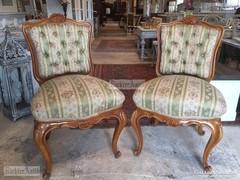 Antik bútor, 2db Barokk szék.