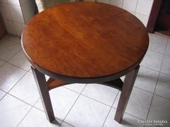 Kerek Art Deco étkezőasztal, szalon asztal 100% Felújítva!