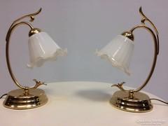 Bájos asztali lámpapár