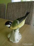 Unterweissbach porcelán cinege madár figura