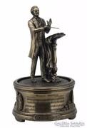 Wagner zenélő szobor