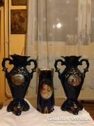 Kobaltkék vázák