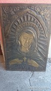 Régi réz szentkép, fali dísz 1000 Ft-ról