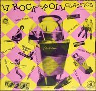17 Rock & Roll Classics bakelit lemez