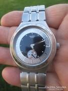 Swatch minőségi acéltokos svájci karóra