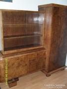 Antik bútor, art deco szekrény, előszoba szekrény, kombinált