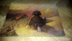 Antik olaj festmény vászonra!!!Jelezve:Tornai Gy.