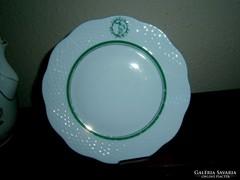 Herendi Fortuna éttermi porcelán tányér