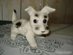 Porcelán kutya figura  3. ő egy tündéri kis szépség