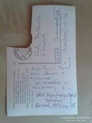 Weöres Sándor és Károlyi Amy által írt képeslap