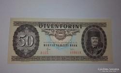 50 Forint,1983-as A-UNC ritkáb évjáratú bankjegy !