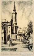 Kmetty János: Tabáni templom