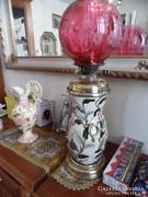 ZSOLNAY LAMPA EXTREM RITKA 1880-85