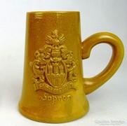 0L511 Sopron címeres kerámia söröskorsó