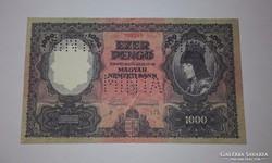 1000 Pengő 1927-es Replica!!! UNC Tartásban.