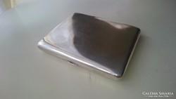 Ezüst cigarettatárca (900as) 8.5 cm es cigarettához