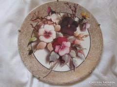 Bradex fali tányér