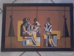 Barcsay Jenő Képcsarnokos festménye!