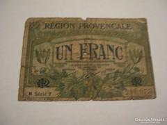 1 Franc 1922 Marseilee