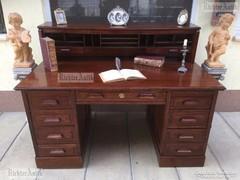 Antik bútor, Lingel íróasztal felújított.