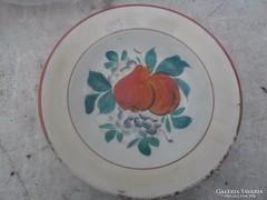 Bélapátfalvi antik körtés fali tányér