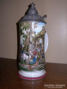 Porcelán korsó 0,5 literes