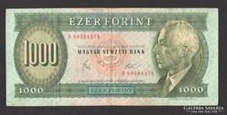 "1000 forint 1983. március. ""B"". (VF),  RITKA !!!"