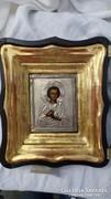 XIX. századi orosz szekrény ikon
