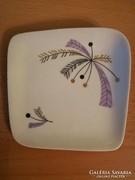 Hibátlan, aquincumi gyűrűtartó porcelán tálka