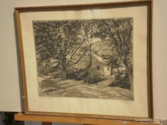 Beron Gyula (1885-1971) : Erdei ház