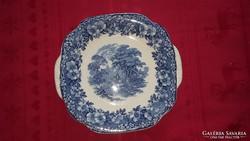 Antik angol porcelán kínálótál