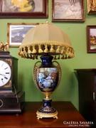 Hibátlan Meisseni porcelán lámpa