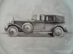 Herendi dísztányér Rolls Royce Phantom II