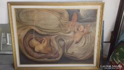 Nagyméretű festmény