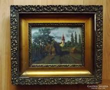 Détári Dettár György csodás festménye  1934-ből