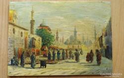 Bácskay  Imre festmény tunisz