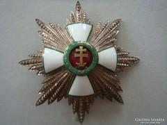 Magyar érdemrend I.osztályú kereszt és csillag